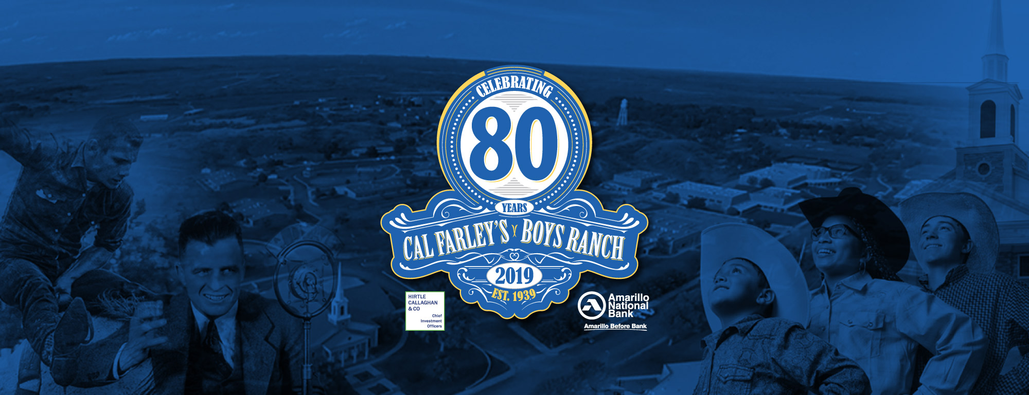 Picture of 80th anniversary logo